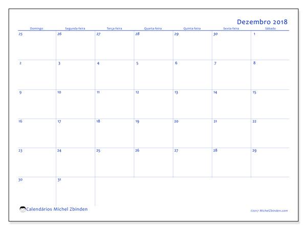 Calendário dezembro 2018, Vitus