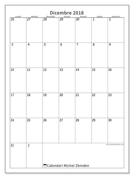 Calendario dicembre 2018, Regulus