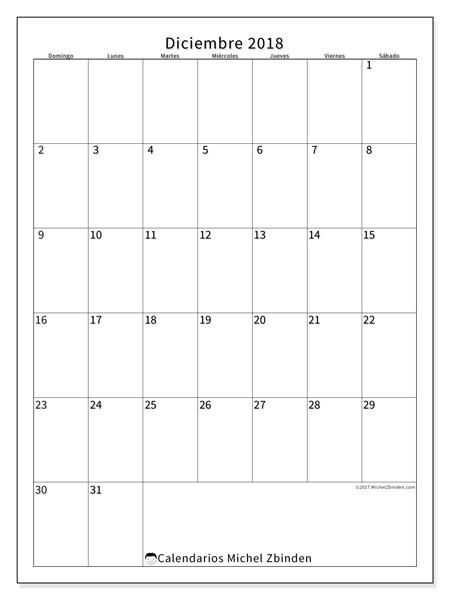 Calendario diciembre 2018, Antonius