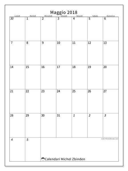Calendario maggio 2018, Regulus