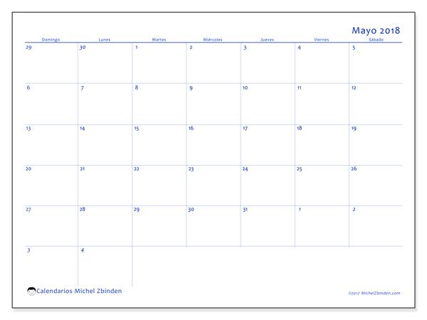 Calendario mayo 2018, Vitus