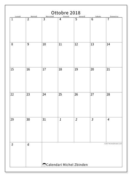 Calendario ottobre 2018, Regulus