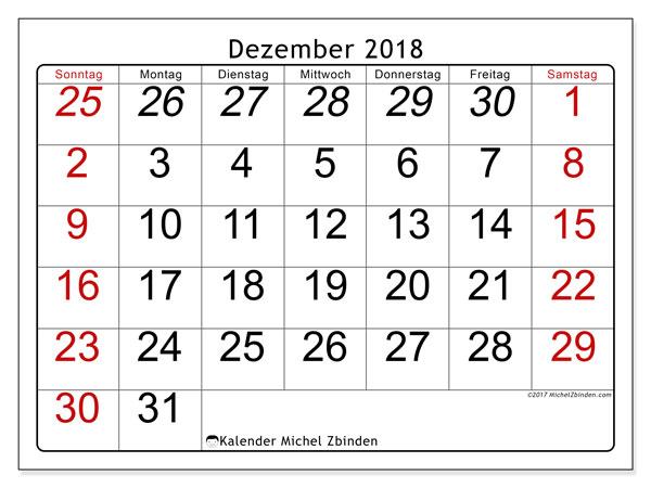 Kalender Dezember 2018 72ss Michel Zbinden De