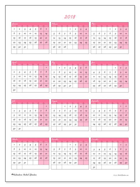 Kalender  2018, Renatus