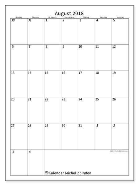 Kalender August 2018, Regulus