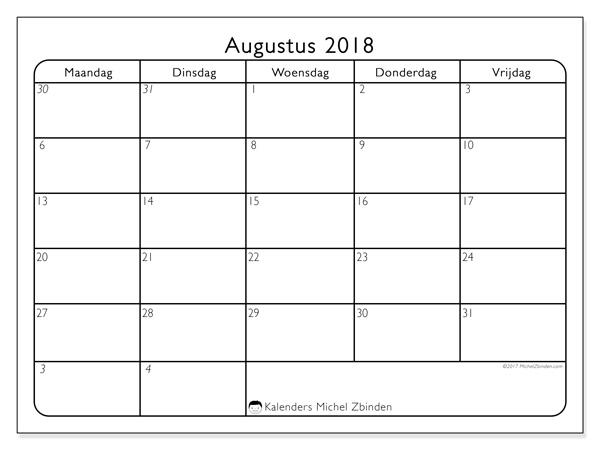 Kalender augustus 2018, Egidius