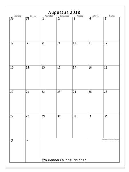 Kalender augustus 2018, Regulus