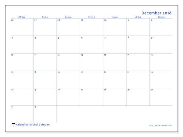 Kalender december 2018, Vitus