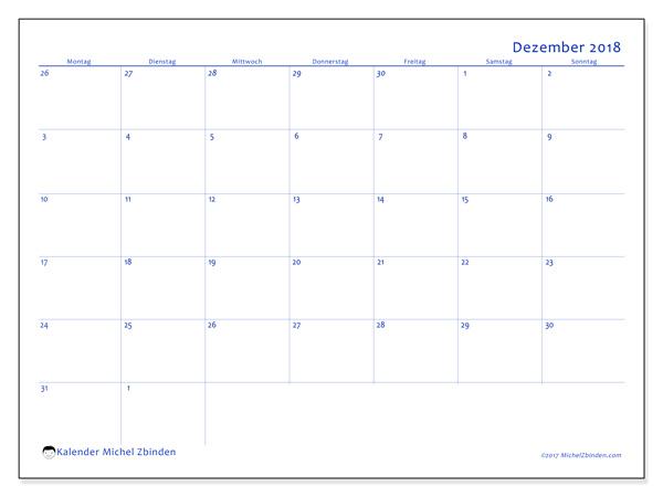 Kalender Dezember 2018, Vitus
