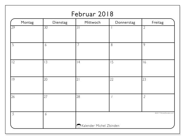 Kalender Februar 2018, Egidius
