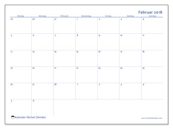 Kalender Februar 2018, Vitus