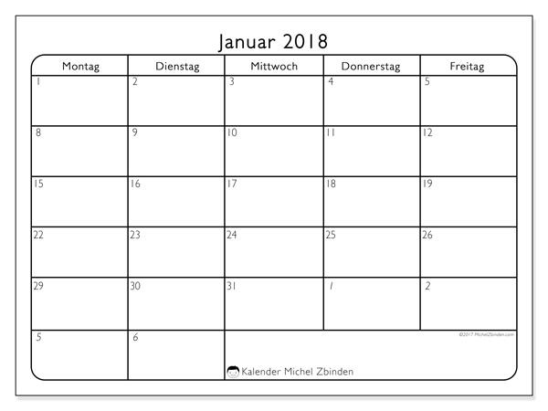Kalender Januar 2018, Egidius