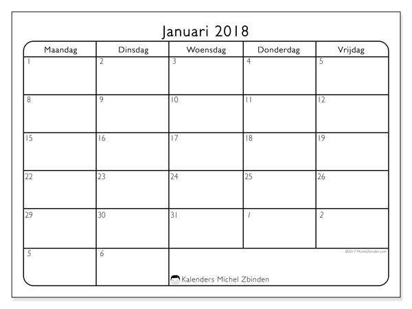 Kalender januari 2018, Egidius