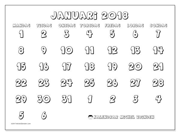 Kalender januari 2018, Hilarius