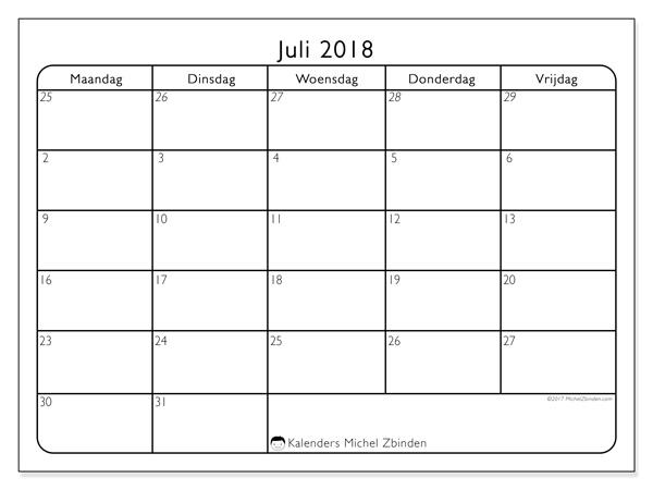 Kalender juli 2018, Egidius