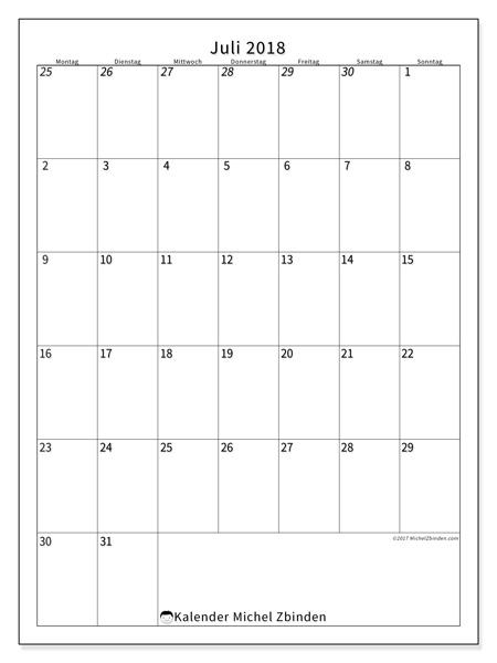 Kalender Juli 2018, Regulus
