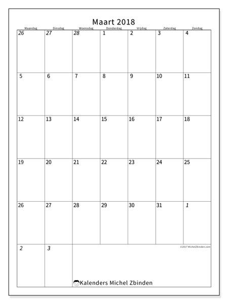 Kalender maart 2018, Regulus