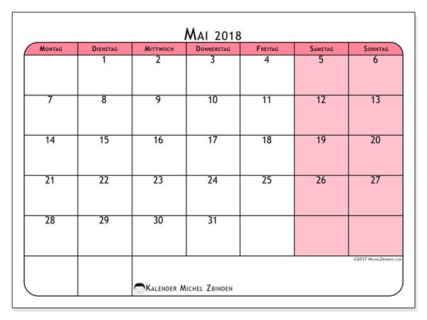Kalender Mai 2018, Severinus