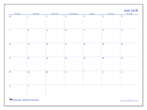 Kalender Mai 2018, Vitus