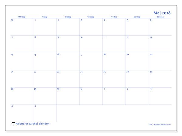 Kalender maj 2018, Vitus