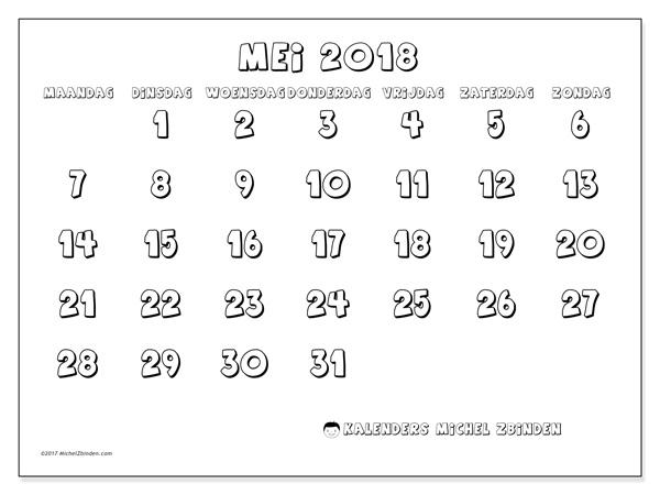 Kalender mei 2018, Adrianus