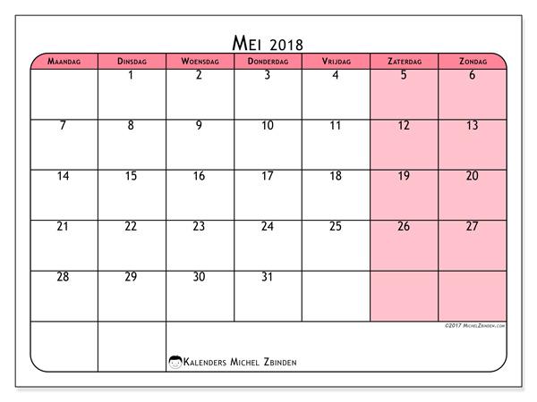 Kalender mei 2018, Severinus