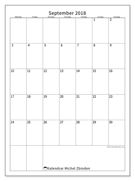 Kalender september 2018, Antonius