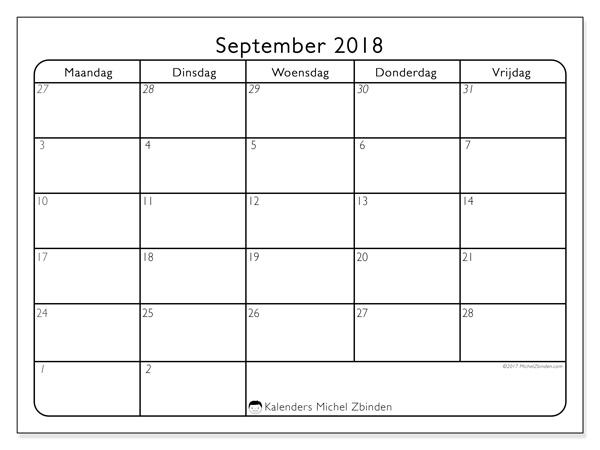 Kalender september 2018, Egidius