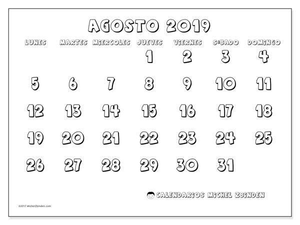 Calendario 18.Calendarios Agosto 2019 Ld Michel Zbinden Es