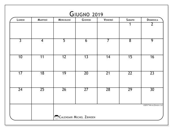 Calendario Giugno Luglio Agosto 2019.Calendari Giugno 2019 Ld Michel Zbinden It