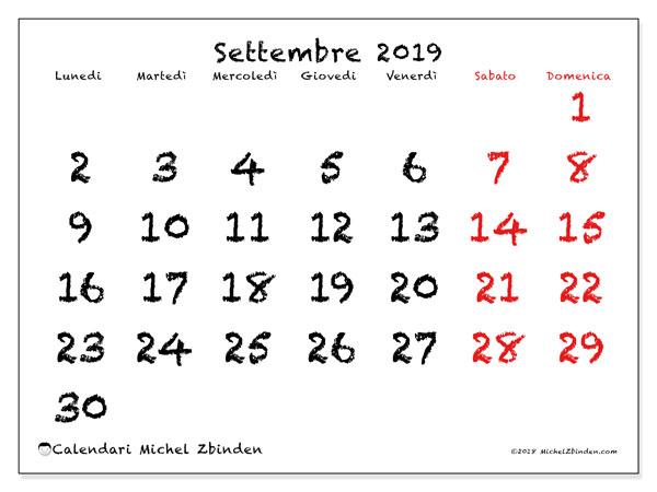 Calendario Da Settembre 2019 A Giugno 2020.Calendari Settembre 2019 Ld Michel Zbinden It