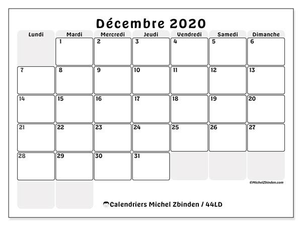 Calendrier De Decembre 2020.Calendriers Decembre 2020 Ld Michel Zbinden Fr
