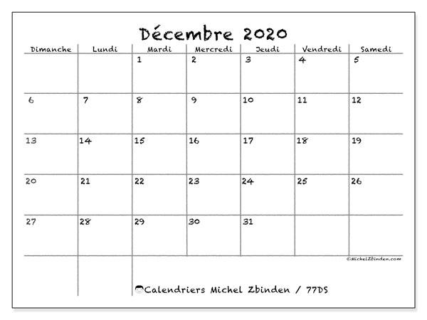 Calendrier De Decembre 2020.Calendrier Decembre 2020 77ds Michel Zbinden Fr