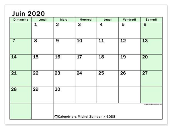 Calendrier Juin 2020.Calendrier Juin 2020 60ds Michel Zbinden Fr