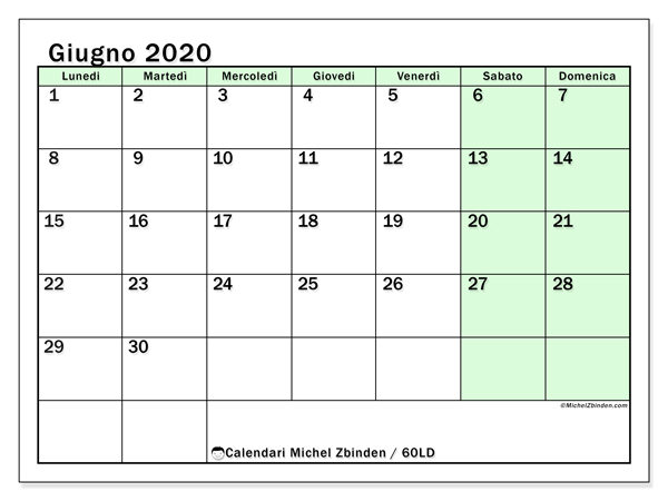 Calendario 2020 Con Santi Da Stampare.By Photo Congress Calendario Giugno 2019 Con Santi E Fasi