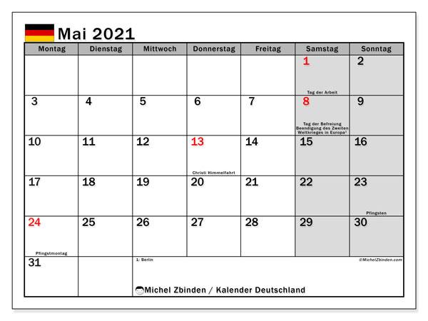 Deutsche Charts Mai 2021