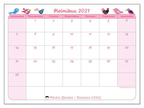 Vuoden 2021 Kalenteri