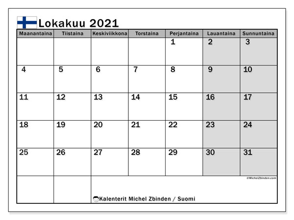 Lokakuu 2021