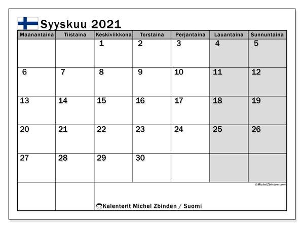 Vapaapäivät 2021