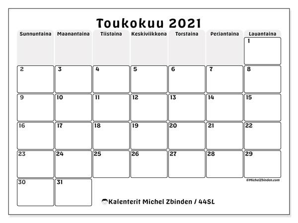 Kalenteri Toukokuu 2021