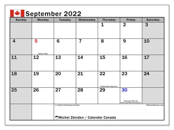 Aug Sept 2022 Calendar.September 2022 Calendars Public Holidays Michel Zbinden En