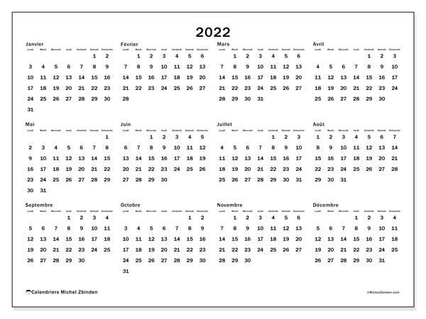 "Calendrier 2022 à Imprimer Pinterest Calendrier 2022 à imprimer ""32LD""   Michel Zbinden CH"